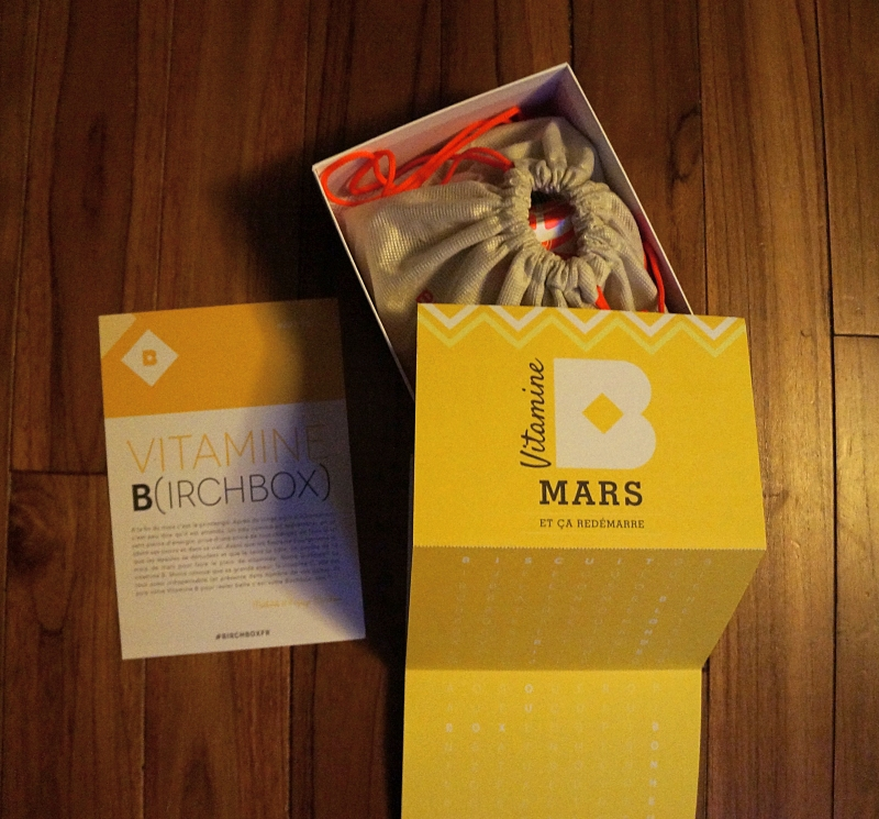 La Birchbox de mars 2014