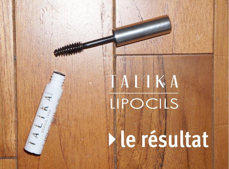 Ma cure Lipocils de Talika : le résultat !