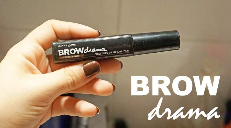 Le mascara à sourcils Brow Drama de Gemey-Maybelline : oui mais pas pour moi !