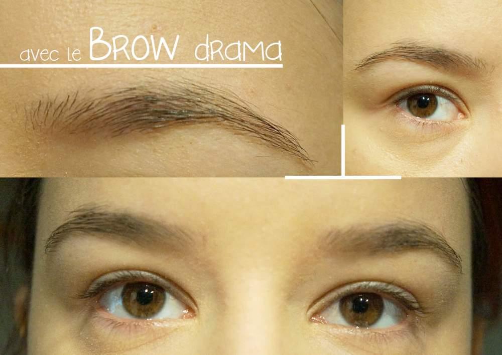 Le mascara à sourcils Brow Drama de Gemey-Maybelline : oui mais pas pour moi ! (4/6)