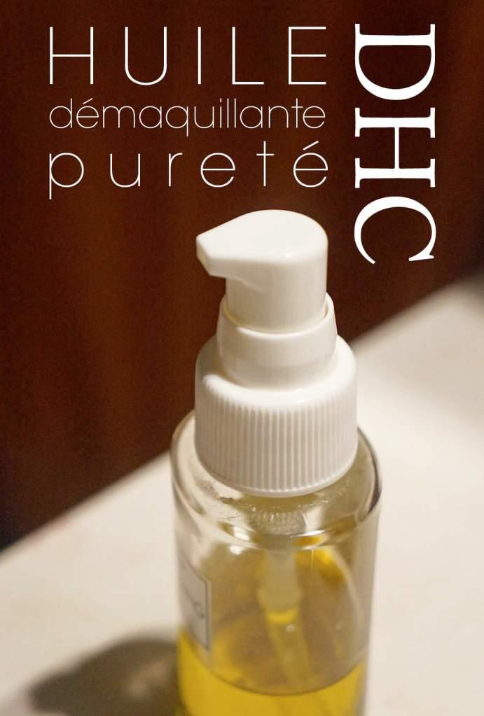 L'huile démaquillante pureté de DHC : oui mais non !